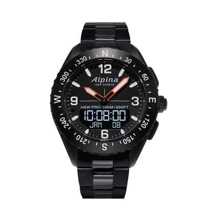 alpina men's quartz watch