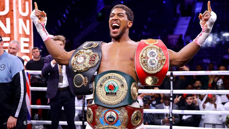 Boxing Heavyweight Champ Anthony Joshua
