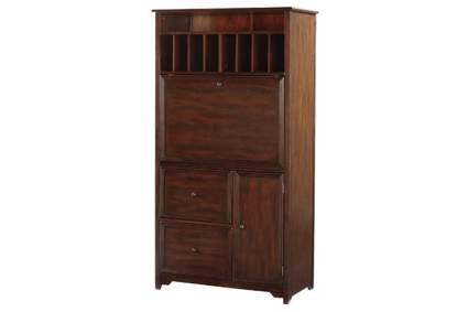 armoire with fold down desk