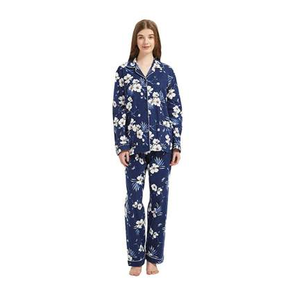 Blue Flower GLOBAL Pajamas