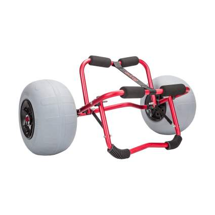 Bonnlo Kayak Cart With 12-Inch Beach Balloon Tires