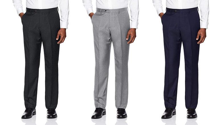 Buttoned Down Dress Pants