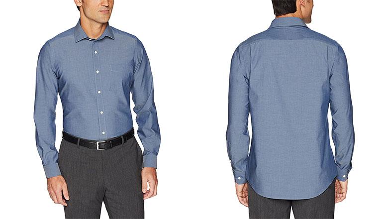 Buttoned Down Tailored Poplin shirt