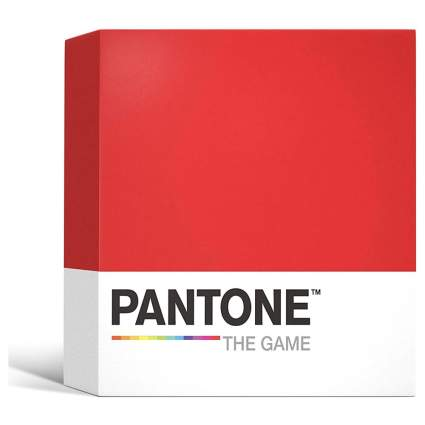 Pantone board game box