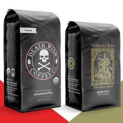 Bag of death wish coffee