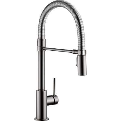 Delta Faucet Trinsic Pro Single-Handle Spring Spout