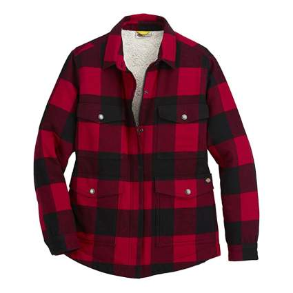 Dickies Buffalo Plaid Sherpa