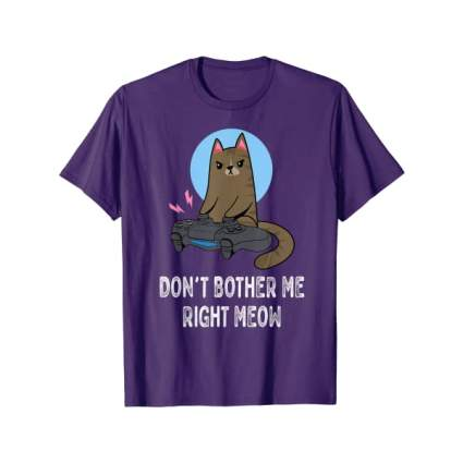 Don't Bother Me Right Meow T-Shirt