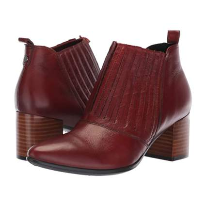 Ecco Block Heel Booties