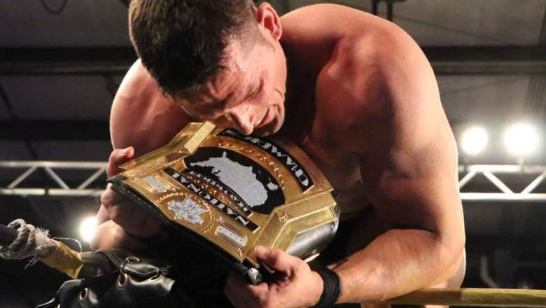 Jessie Godderz wins OVW's first National Championship Title