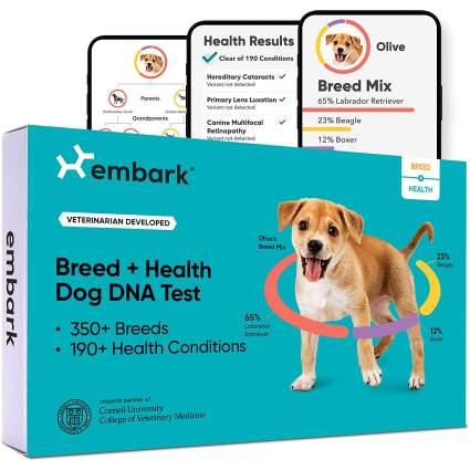 Embark Dog DNA Test Breed & Health Kit