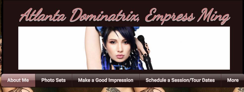 Empress Ming homepage
