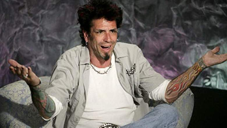 Evel Dick Donato in the diary room when he played Big Brother