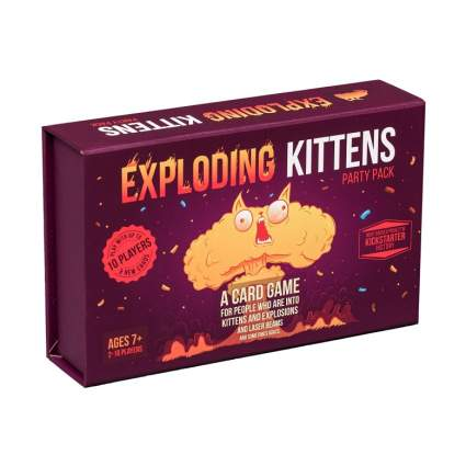 Exploding Kittens Card Game - Party Pack for Up to 10 Players