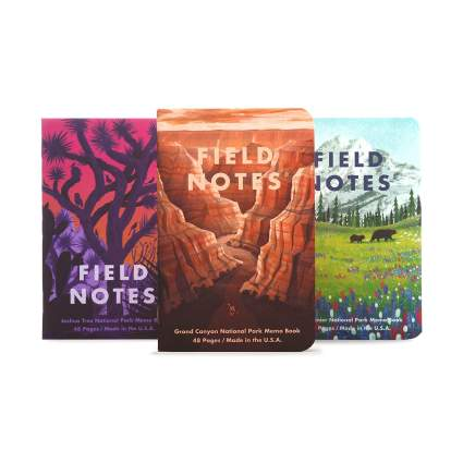 Field Notes National Parks Series Notebooks