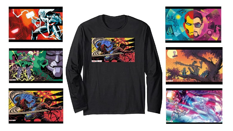 Fortnite x Marvel Long Sleeve T-Shirts
