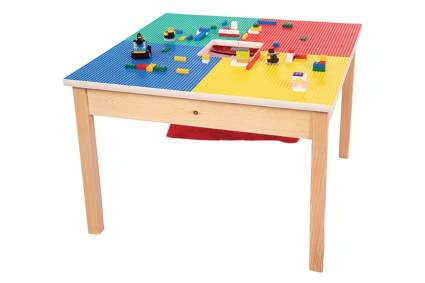 Fun Builder Heavy Duty Lego Table with Storage