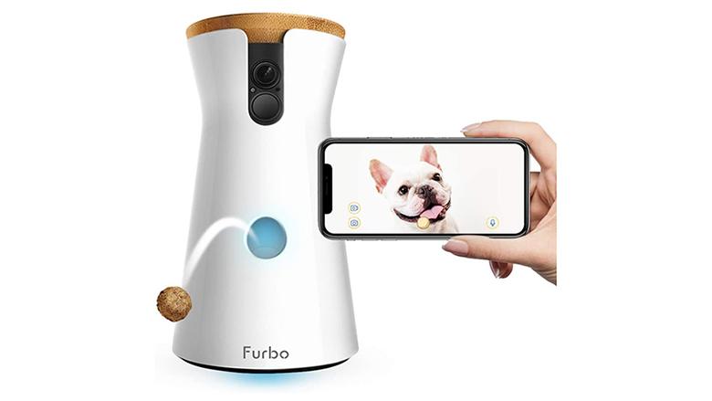 treat tossing pet camera
