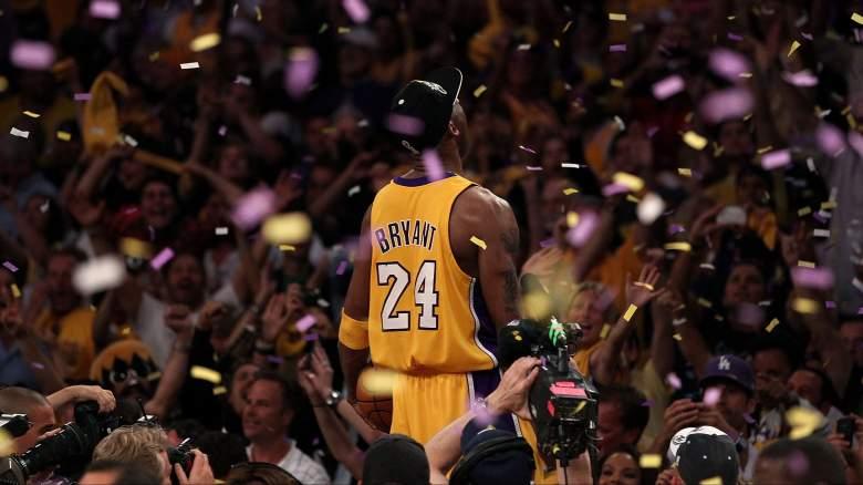 Lakers star Kobe Bryant in 2010