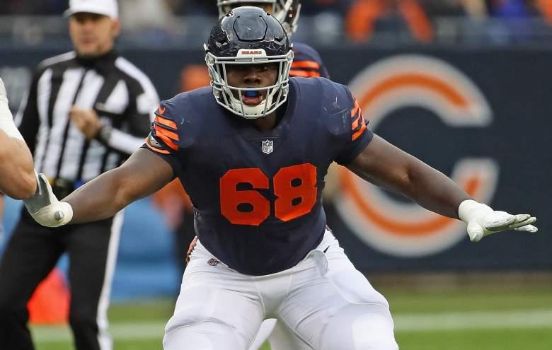 Bears OL James Daniels pectoral injury