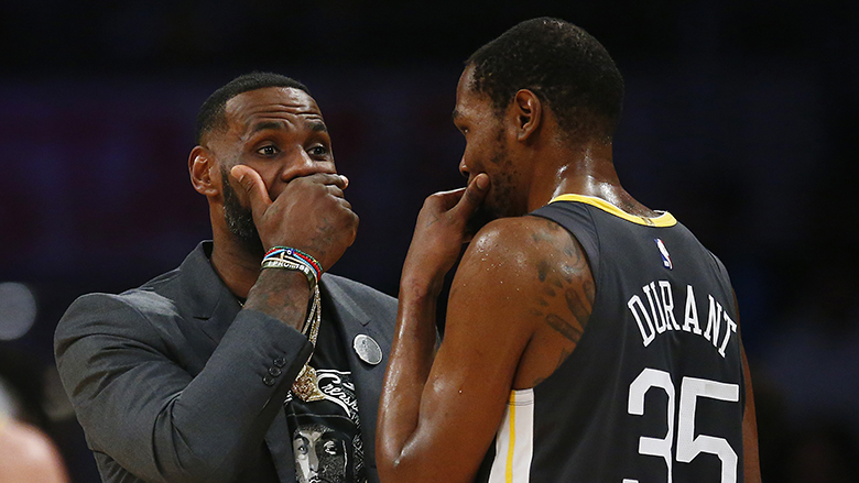 Kevin Durant Has Strong Comments About LeBron James, Rajon Rondo