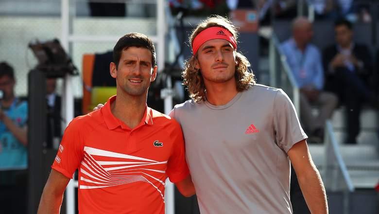 Djokovic vs Tsitsipas Live Stream: How to Watch in US | Heavy.com