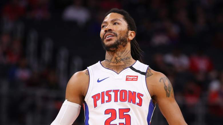 Derrick Rose, potential Pistons trade chip