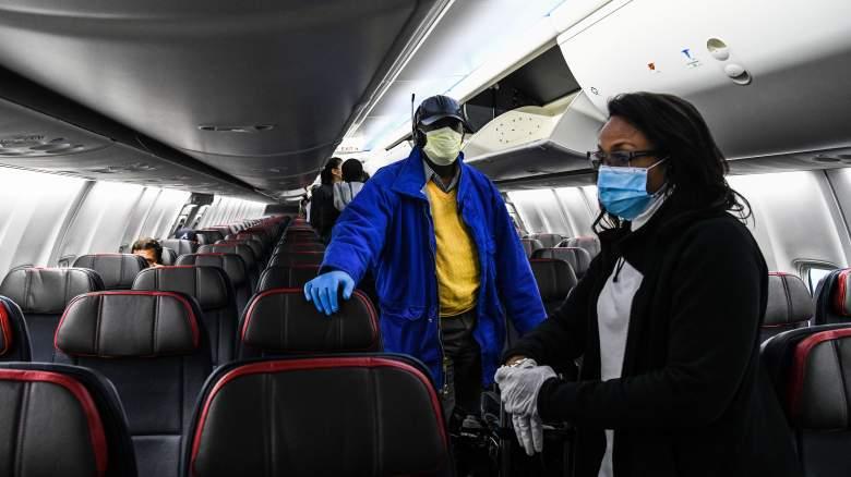 Woman Dies COVID Plane