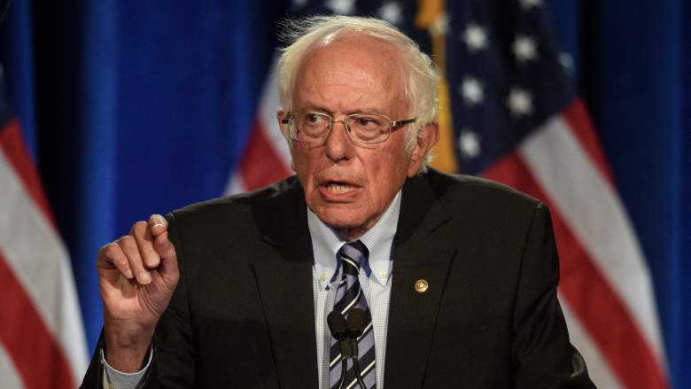 How many people were at Bernie Sanders' Biden rally in New Hampshire?