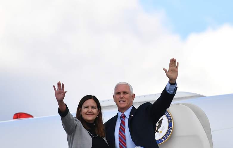 Mike and Karen Pence