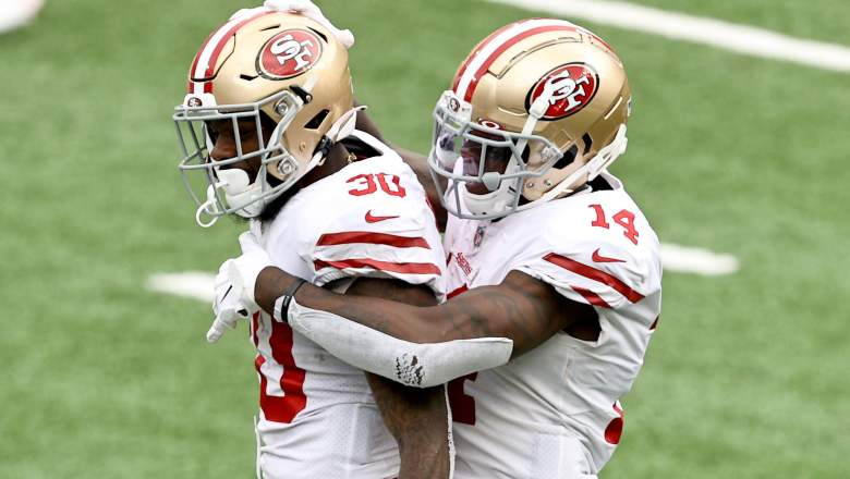 49ers wide receivers