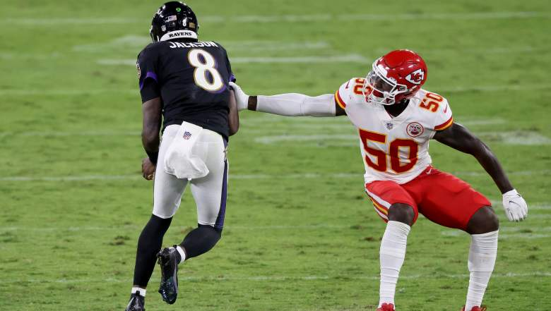 Willie Gay Jr. Chiefs