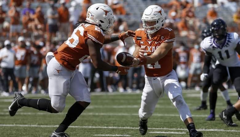 Texas vs Oklahoma watch