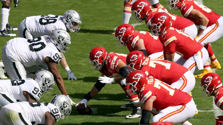 Chiefs offensive line