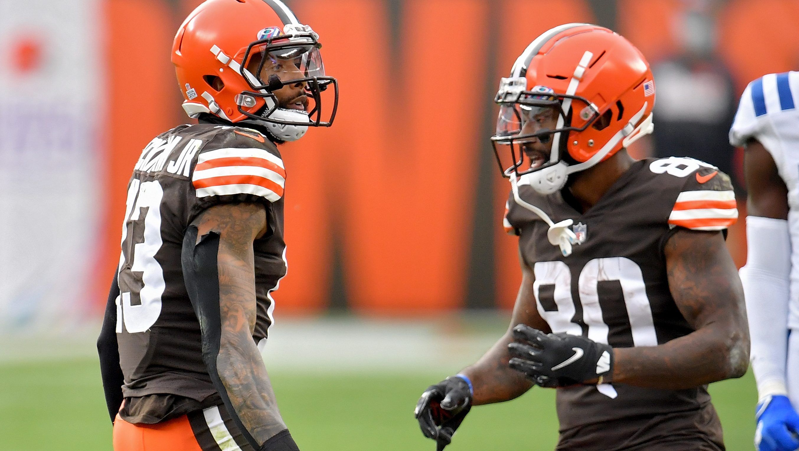 Multiple Contenders Inquired About Browns Receiver Via Trade