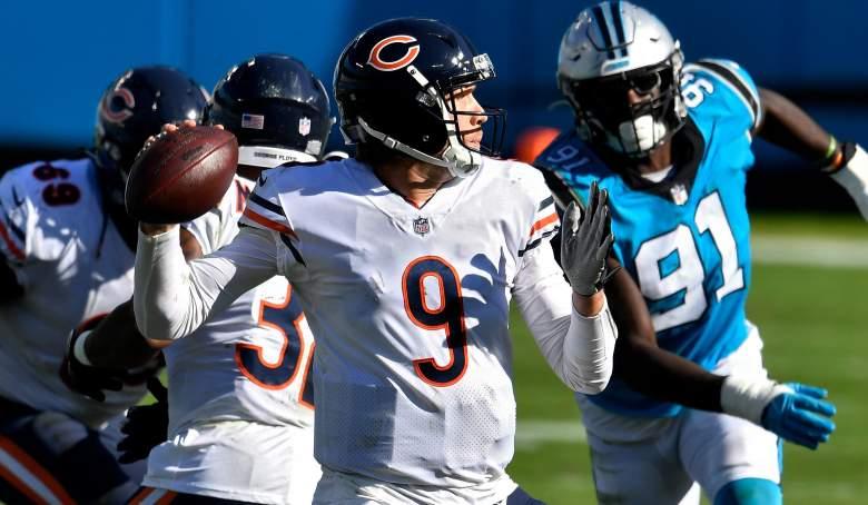 Bears QB Nick Foles response