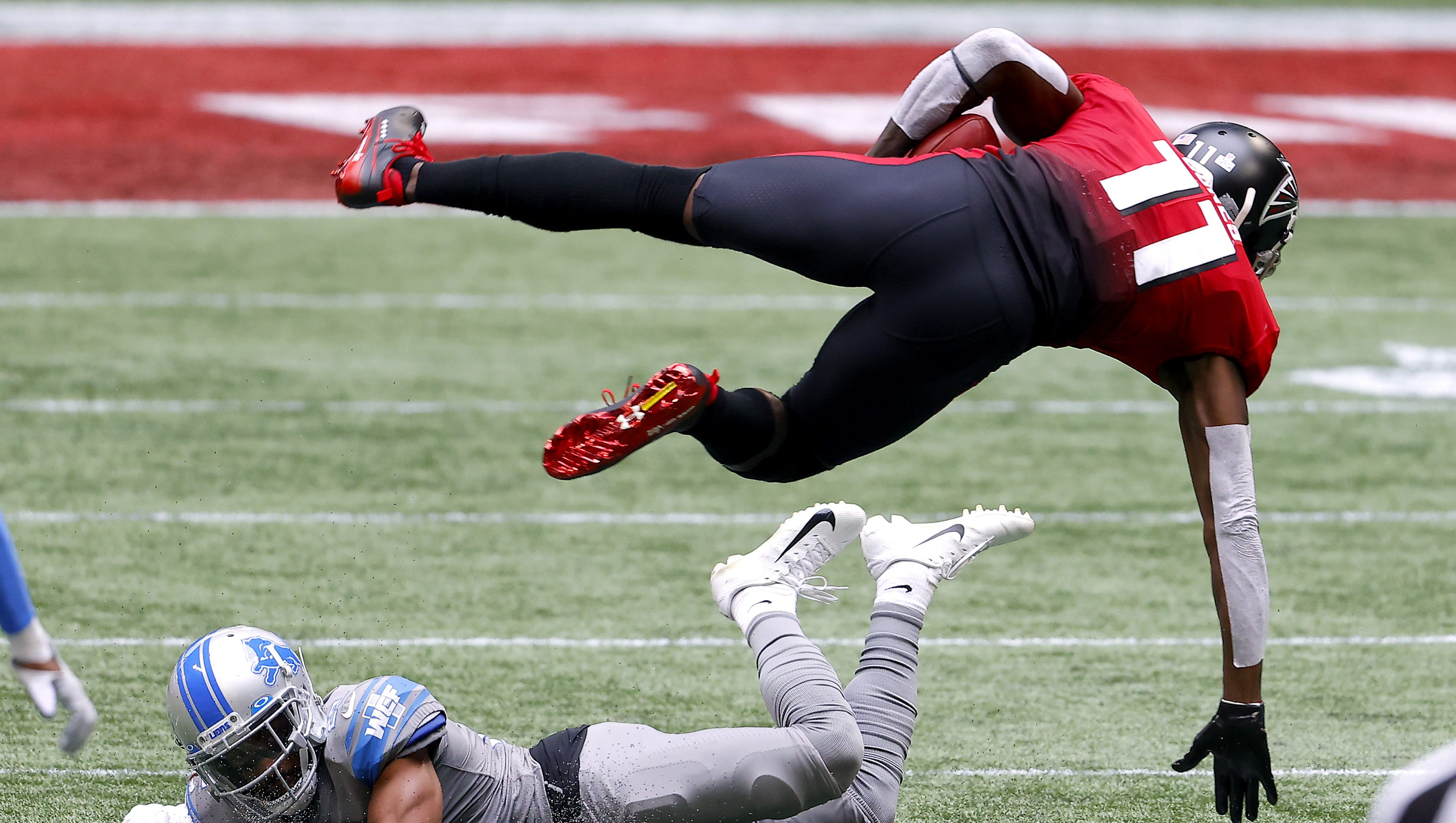 Falcons-Panthers Injury Report: Julio Jones Listed With New Injury