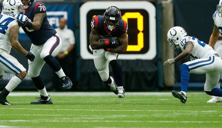 RB Lamar Miller Bears practice squad