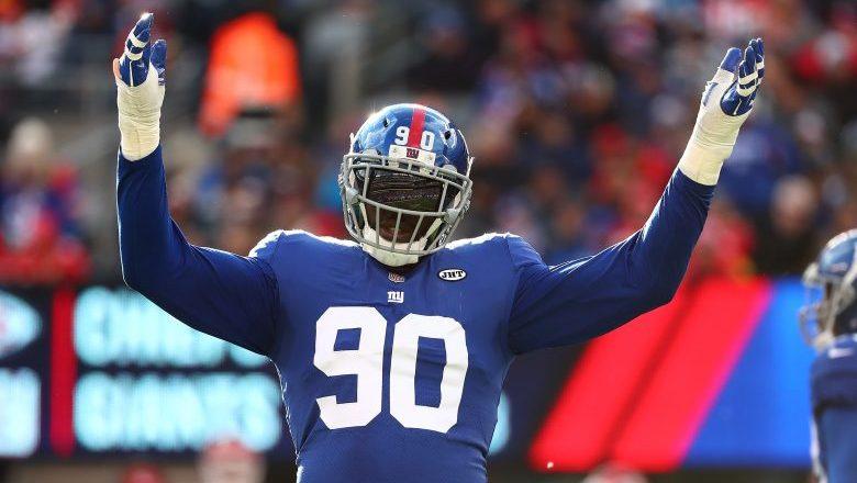 Jason Pierre Paul Going for Giants Necks on Monday