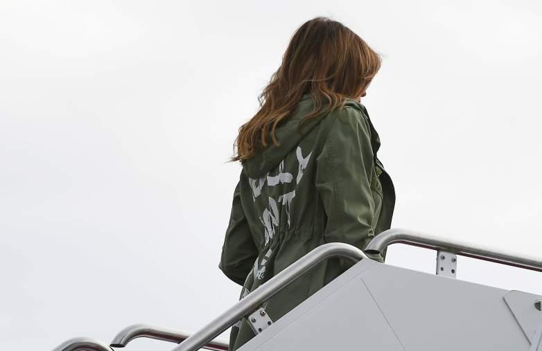 Melania Trump i don't care jacket