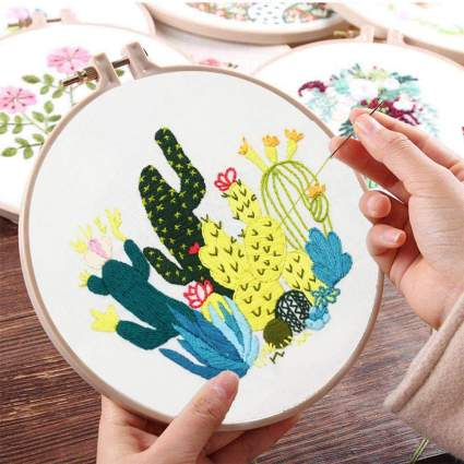 Gifts for Teachers - Embroidery Kit