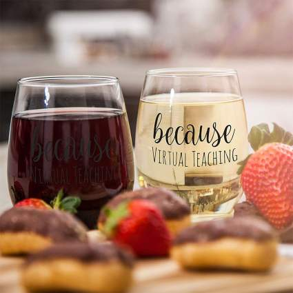 Gifts for Teachers - Wine Glass