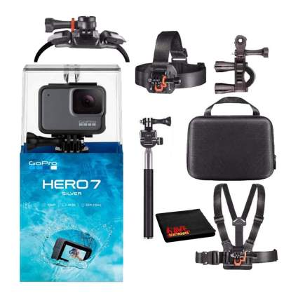 go pro camera set with accessories