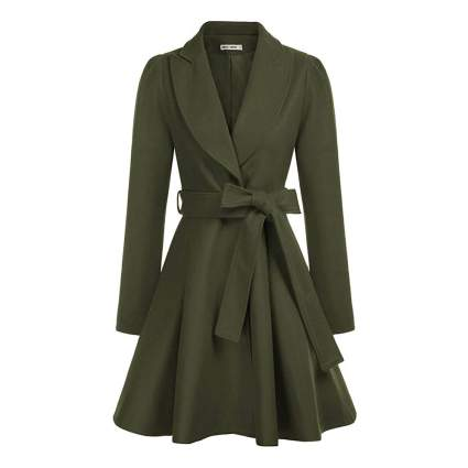 Grace Karin wrap coat