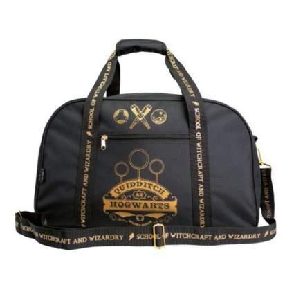 Harry Potter Gryffindor Quidditch at Hogwarts Black Duffle Bag