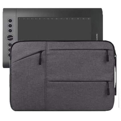 Dark grey pen display case