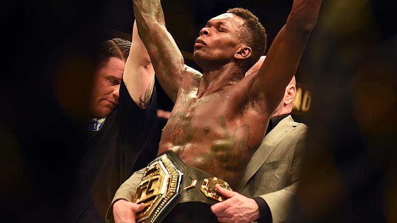 UFC Champ Israel Adesanya