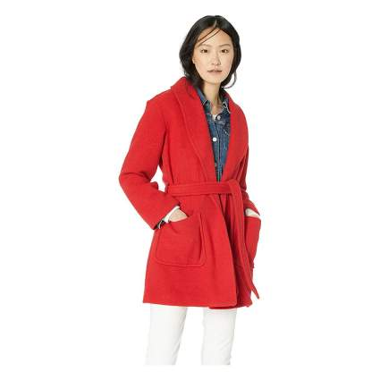 J.Crew Mercantile wrap coat