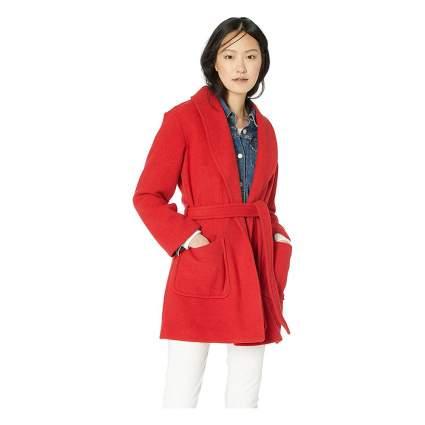 J.Crew Mercantile wrap coat