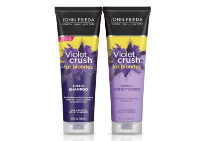 violet shampoo and conditioner